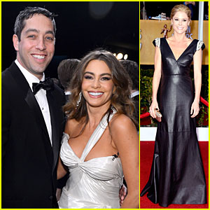 Sofia Vergara & Nick Loeb - SAG Awards 2013 Red Carpet