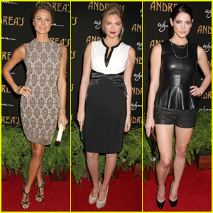 Stacy Keibler & Kate Upton: Andrea's Grand Opening!