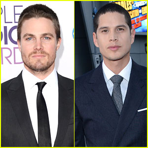 Stephen Amell & J.D. Pardo - People's Choice Awards 2013