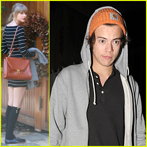 Taylor Swift & Harry Styles: Post-Split Separate Sightings!