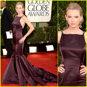 Taylor Swift - Golden Globes 2013 Red Carpet