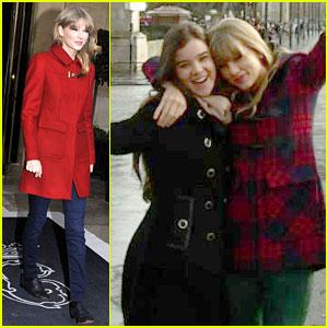 Taylor Swift & Hailee Steinfeld: Paris Sightseeing Pair!