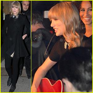 Taylor Swift: Paris Yacht Performance!