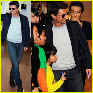 Tom Cruise: Warm Welcome in Tokyo