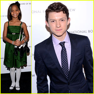 Tom Holland & Quvenzhane Wallis: NBR's Breakthrough Actors!