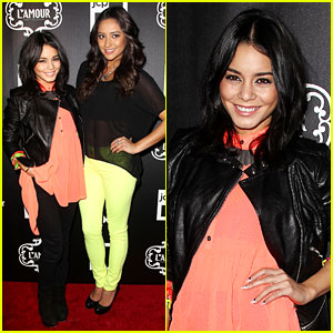 Vanessa Hudgens: Short Hair at L'Amour Launch!