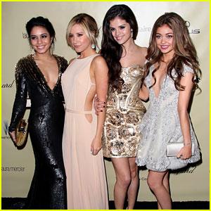 Vanessa Hudgens & Selena Gomez - Golden Globes Parties 2013