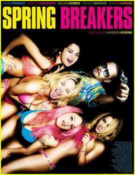 Vanessa Hudgens & Selena Gomez: New 'Spring Breakers' Poster