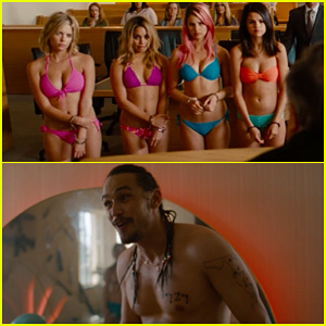 Vanessa Hudgens & Selena Gomez: 'Spring Breakers' Official Trailer - Watch Now!