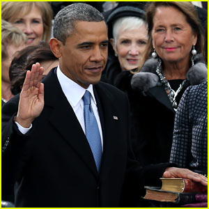 Watch President Barack Obama Be Sworn in at Second Inauguration
