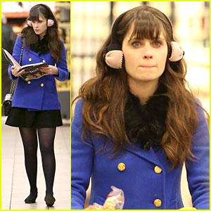 Zooey Deschanel: 'Baked Elements' Reader!