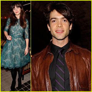 Zooey Deschanel: 'Glamour' Cover Girl Celebration!