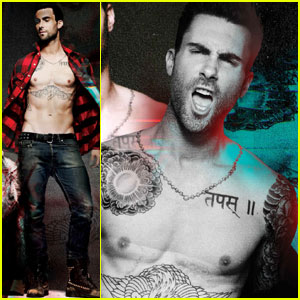 Adam Levine: '7 Hollywood' Shirtless Feature