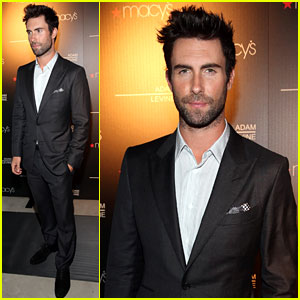 Adam Levine: Fragrance Launch Event!