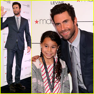 Adam Levine: Fragrance Launch Meet & Greet!