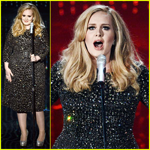Adele: Oscars 2013 Performance of 'Skyfall' - WATCH NOW!