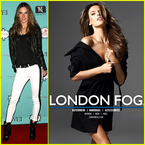 Alessandra Ambrosio: London Fog Spring 2013 Campaign!