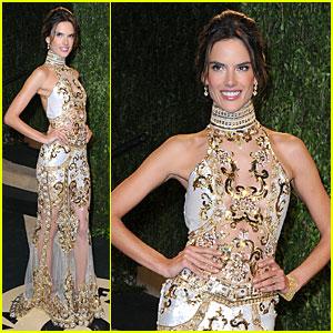 Alessandra Ambrosio - Vanity Fair Oscars Party 2013