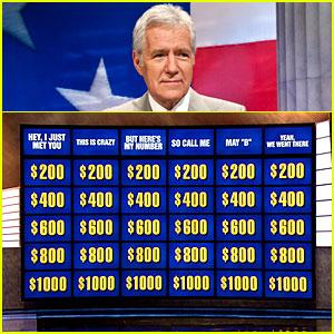 Alex Trebek: 'Call Me Maybe' 'Jeopardy!' Categories!