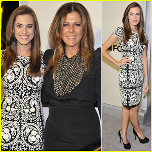 Allison Williams & Rita Wilson: Tom Ford Cocktail Party
