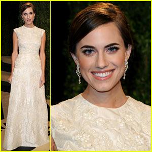 Allison Williams - Vanity Fair Oscars Party 2013