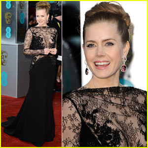 Amy Adams - BAFTAs 2013 Red Carpet