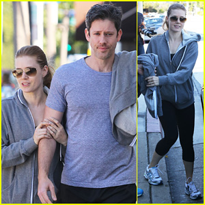 Amy Adams & Darren Le Gallo: WeHo Workout Twosome!