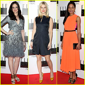 Andrea Riseborough & Alice Eve - Elle Style Awards 2013