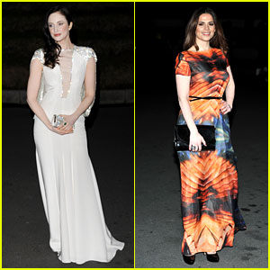 Andrea Riseborough & Hayley Atwell: British Film Awards 2013
