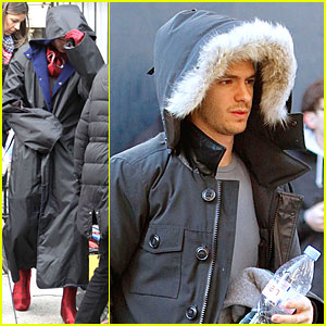 Andrew Garfield: 'Amazing Spider-Man 2' Suit - First Look!