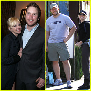 Anna Faris & Chris Pratt: Grey Goose Pre-Oscars Party 2013