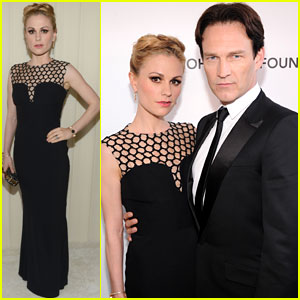 Anna Paquin & Stephen Moyer - Elton John Oscars Party 2013