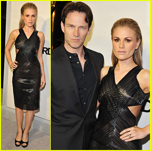 Anna Paquin & Stephen Moyer: Tom Ford Cocktail Party