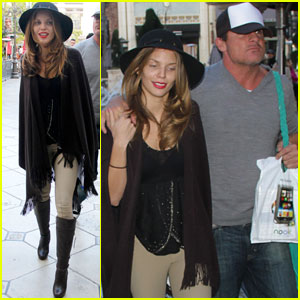 AnnaLynne McCord & Dominic Purcell: The Grove Couple!