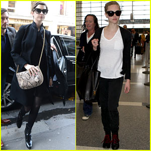 Anne Hathaway & Amanda Seyfried: Berlinale Festival Bound!