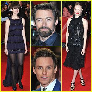 Anne Hathaway & Hugh Jackman: 'Les Mis' Berlin Premiere!