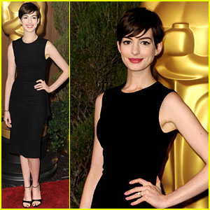 Anne Hathaway - Oscar Nominees Luncheon 2013