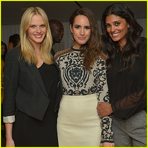 Anne V: Rachel Roy & Louise Roe 'Fashion Star' Dinner!