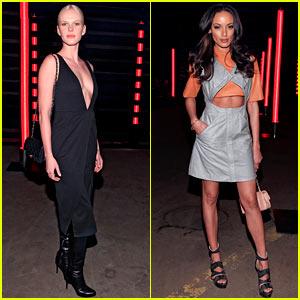 Anne V & Selita Ebanks: Sally Lapointe Fashion Show!
