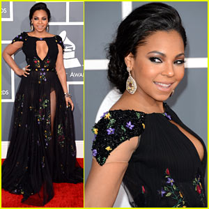 Ashanti - Grammys 2013 Red Carpet