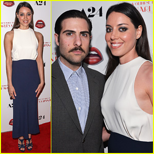 Aubrey Plaza: 'The Mind of Charles Swan III' Premiere!