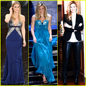 Bar Refaeli: Sanremo Song Festival Show & Photo Call!