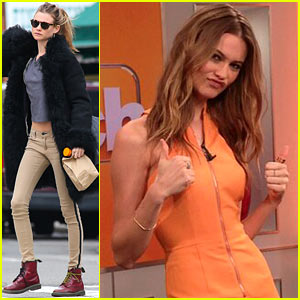 Behati Prinsloo: 'The Couch' Appearance!