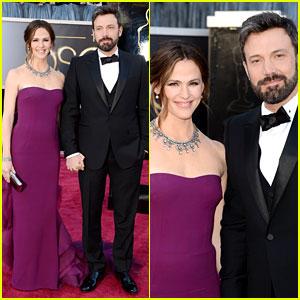 Ben Affleck & Jennifer Garner - Oscars 2013 Red Carpet