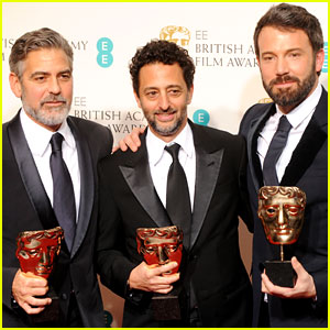 Ben Affleck Wins BAFTAs' Best Director & Best Film 2013!