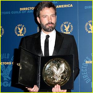 Ben Affleck Wins DGA Award 2013 Despite Oscar Snub