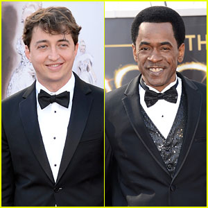 Benh Zeitlin & Dwight Henry - Oscars 2013 Red Carpet