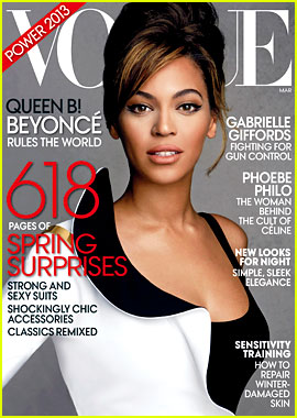 Beyonce Covers 'Vogue' March 2013