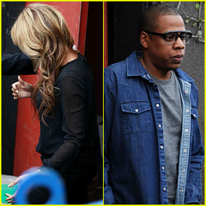 Beyonce & Jay-Z: Gjelina Lunch Date with Blue Ivy!
