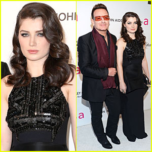 Bono & Eve Hewson - Elton John Oscars Party 2013